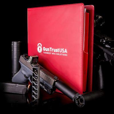 Gun Trust USA Turnkey Package Binder with Guns